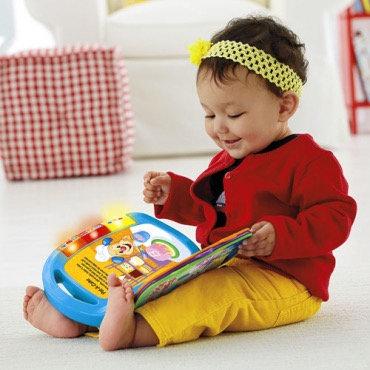 """Բանաստեղծություններ փոքրիկների համար գիրք-խաղալիք """" Fisher price """""""