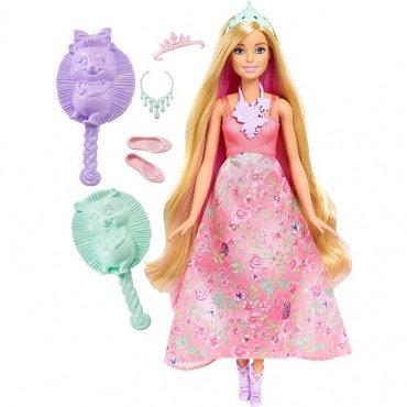 """Գունավոր վարսերով արքայադուստր """" Barbie """""""