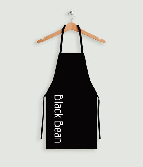 Black Bean Coffee Shop Logo Design and B