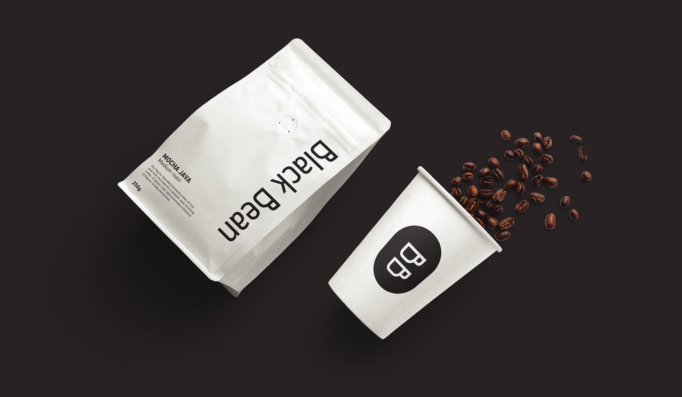 Black-Bean-Coffee-Shop-Logo-Design-and-B