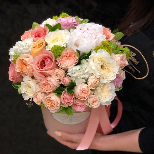 Цветы в шляпной коробке - 07