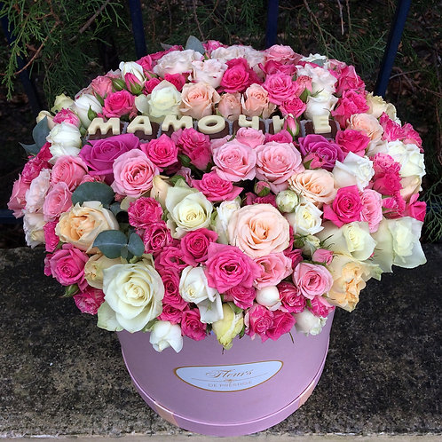 Цветы в шляпной коробке - 002