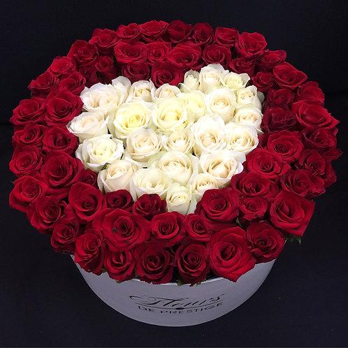 Цветы в шляпной коробке - 50