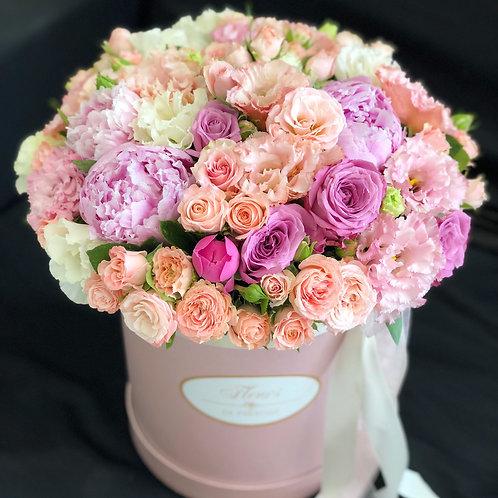 Цветы в шляпной коробке - 32