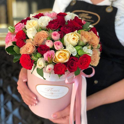 Цветы в шляпной коробке - 28
