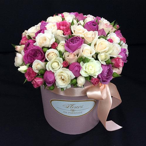 Цветы в шляпной коробке - 61