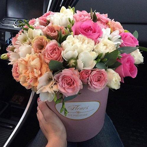Цветы в шляпной коробке - 57