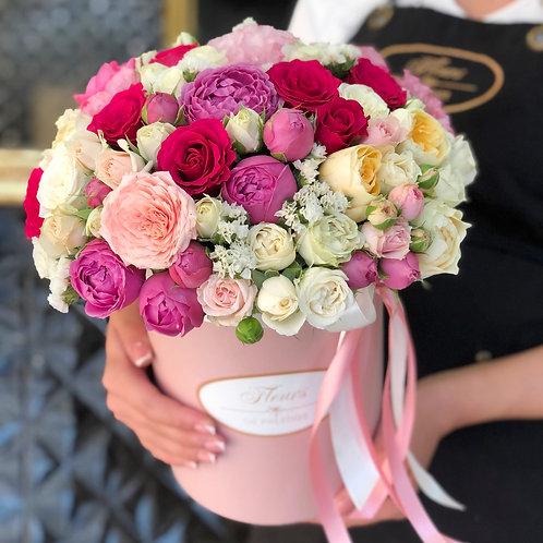 Цветы в шляпной коробке - 69
