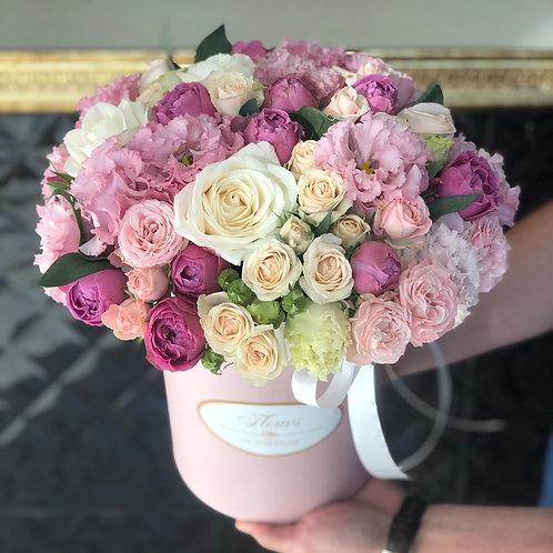 Цветы в шляпной коробке - 65