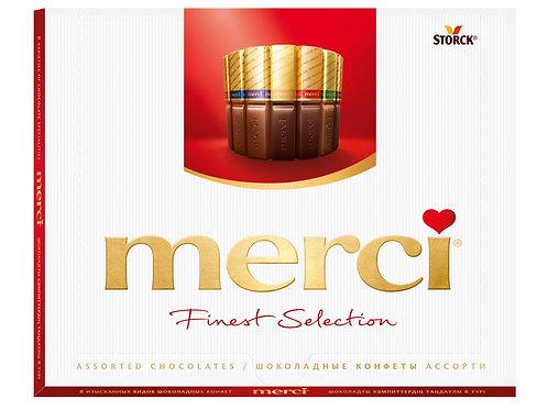 Набор шоколадных конфет MERCI, 250 гр.