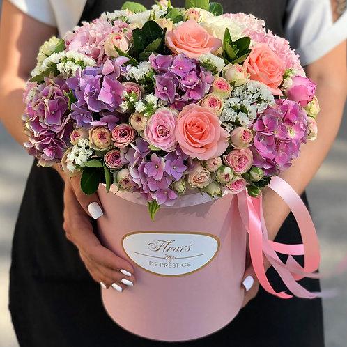 Цветы в шляпной коробке - 10