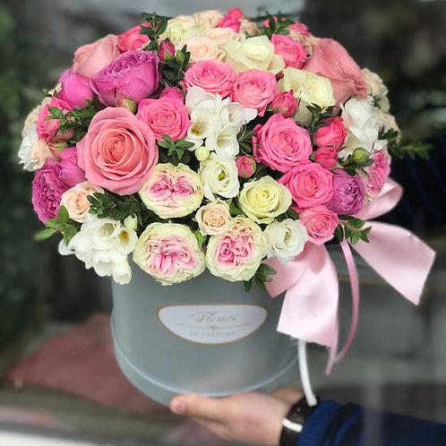 Цветы в шляпной коробке - 63