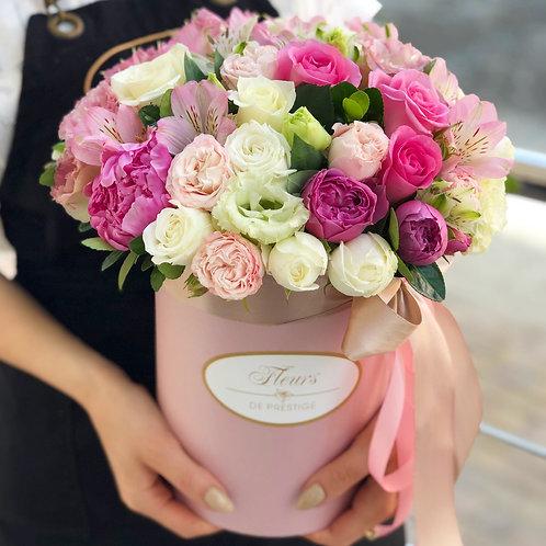 Цветы в шляпной коробке - 03