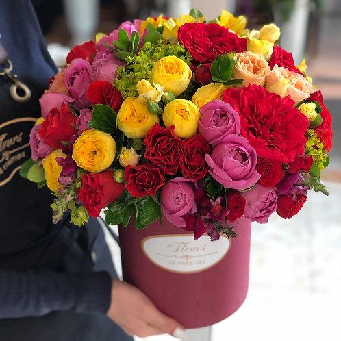 Цветы в шляпной коробке - 06
