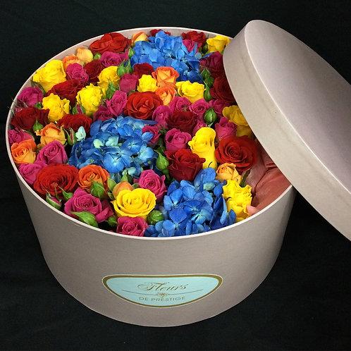 Цветы в шляпной коробке - 59