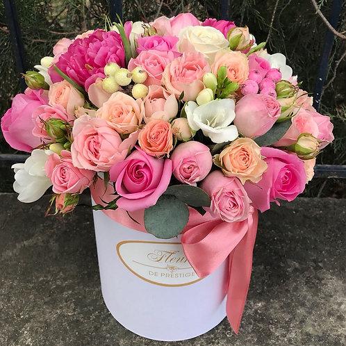 Цветы в шляпной коробке - 21
