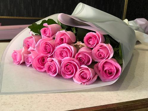 Букет роз 15 шт Ревиваль