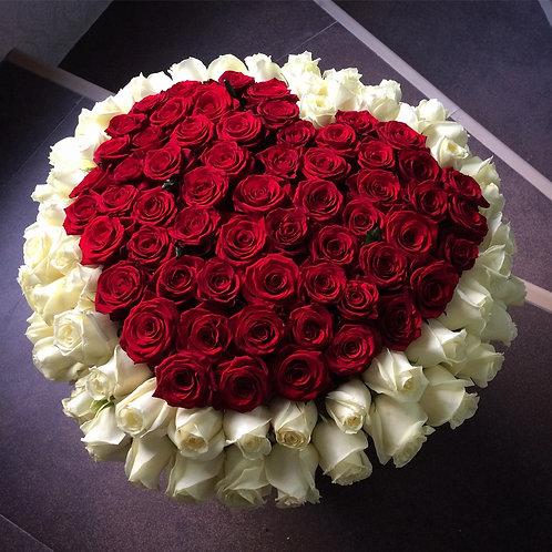 Цветы в шляпной коробке - 47