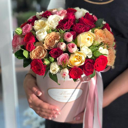 Цветы в шляпной коробке - 71