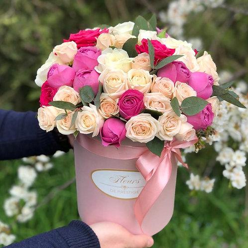 Цветы в шляпной коробке - 05