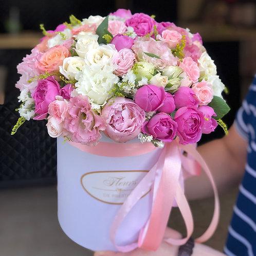 Цветы в шляпной коробке - 11
