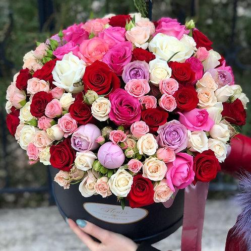 Цветы в шляпной коробке - 39
