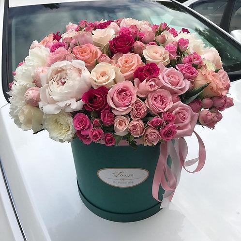 Цветы в шляпной коробке - 44