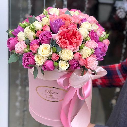 Цветы в шляпной коробке - 75