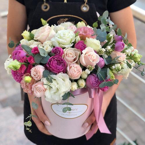 Цветы в шляпной коробке - 73