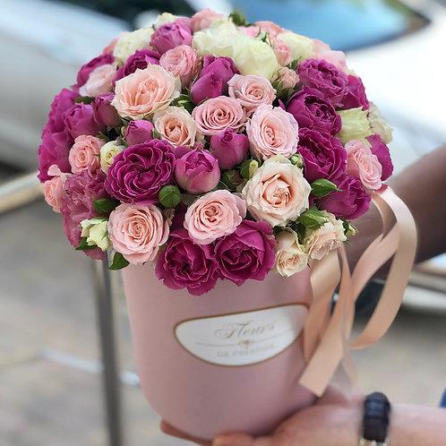 Цветы в шляпной коробке - 13
