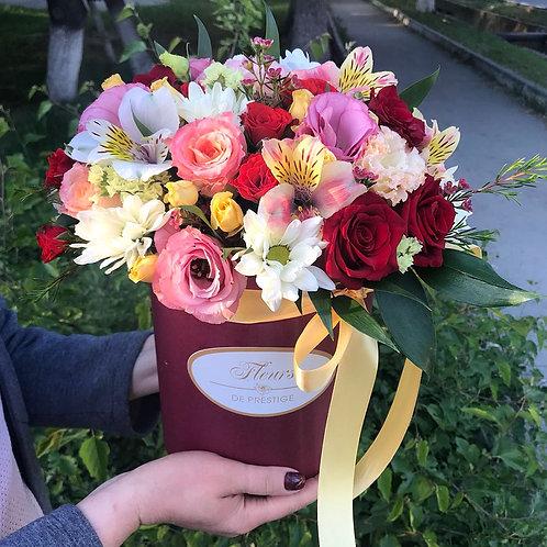 Цветы в шляпной коробке - 20