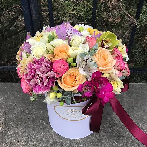 Цветы в шляпной коробке - 22