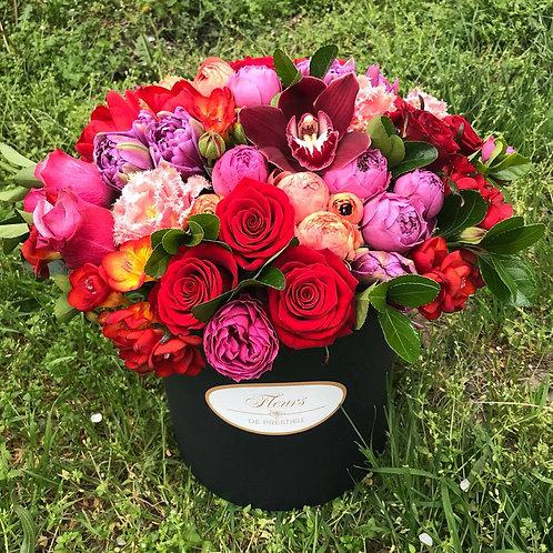 Цветы в шляпной коробке - 27