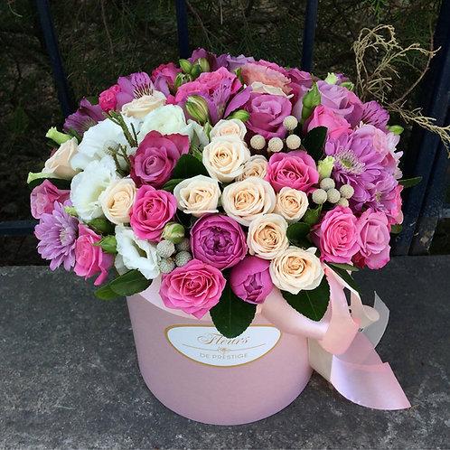 Цветы в шляпной коробке - 38