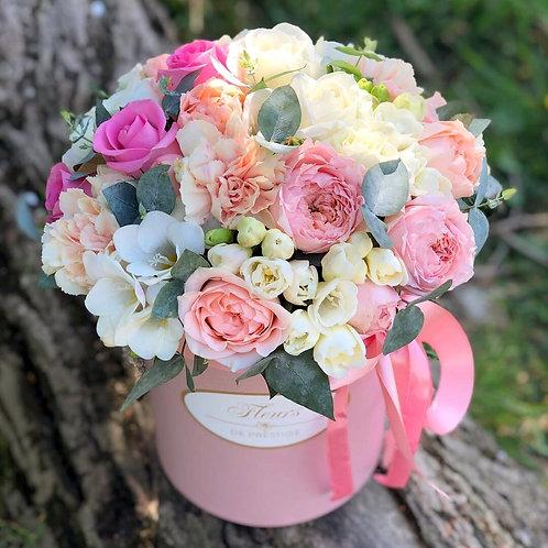 Цветы в шляпной коробке - 08