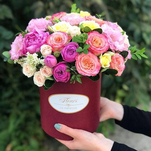 Цветы в шляпной коробке - 72