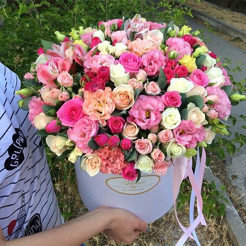 Цветы в шляпной коробке - 43