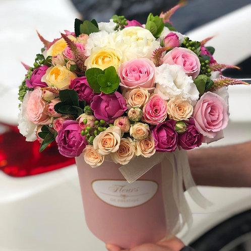 Цветы в шляпной коробке - 66