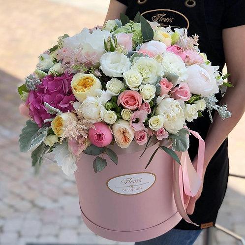 Цветы в шляпной коробке - 41