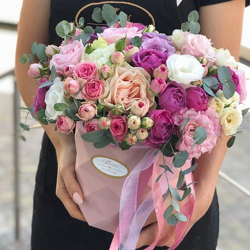 Цветы в шляпной коробке - 68