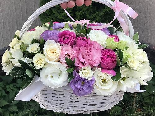 Цветы в корзине - 04