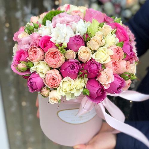 Цветы в шляпной коробке - 70