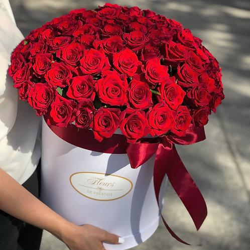 101 роза в шляпной коробке - 42