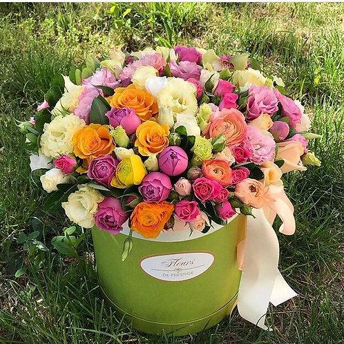 Цветы в шляпной коробке - 51