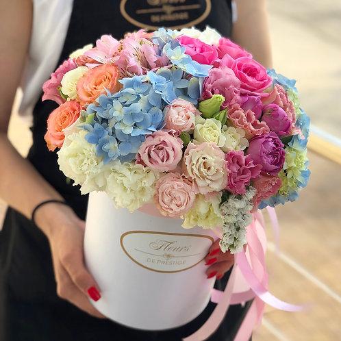 Цветы в шляпной коробке - 09