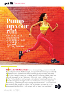 Shape Magazine- Christine