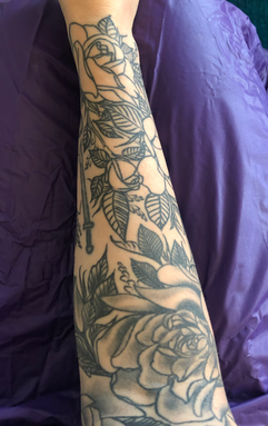 Tattoo Cover (before)