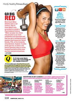 Cosmopolitan Magazine- March 2014