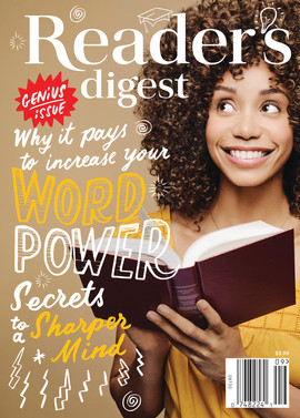 Reader's Digest Cover: September 2017