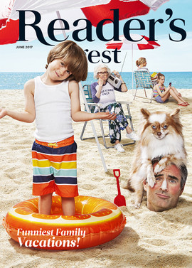 Reader's Digest Cover: June 2017